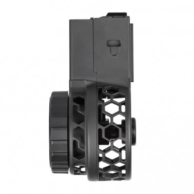 X-Products X-15 HXP Skeletonized Drum Magazine Hex Pattern 50/rd
