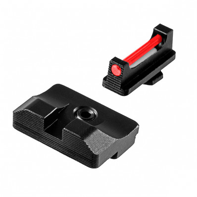 Truglo Fiber Optic Pro Sight Set For Glock 20, 21, 25, 28, 29, 30, 31, 32, 37, 40, and 41 (Excluding M.O.S. models)