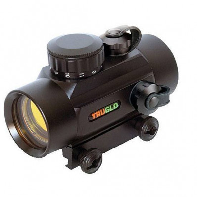 Truglo Red Dot Sight - 30mm 5MOA Dot Black