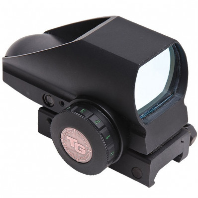 Truglo Tru-Brite Dual Color Open Red Dot Sight - 24x34mm 5 MOA Red/Green Dot - Black