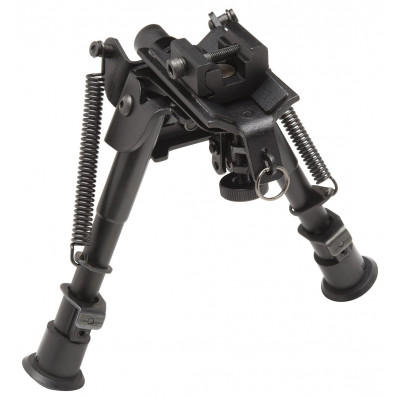 Truglo Tac-Pod Pivoting Adjustable Bipod - Adjustable from 6-9""