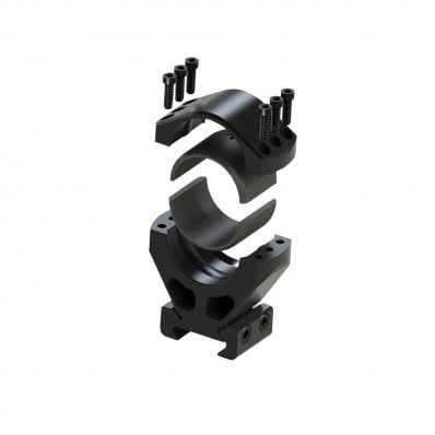 """Burris XTR Signature Scope Rings with Pos-Align Inserts 1.25 in. Height, 1"""" Size"""
