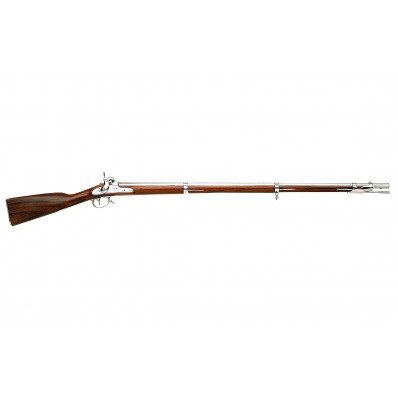 """Traditions 1842 Springfield Musket Build-It-Yourself Kit .69 cal Smoothbore 42"""" Barrel"""