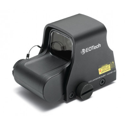 EOTech XPS3 Holographic Weapon Sight - Night Vision Compatible - -0 68 MOA Ring w/1 MOA - Matte