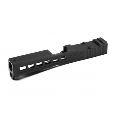 ZEV Technologies Dragonfly Black Slide for Glock 17 Gen 1-3 Absolute Cowitness with RMR Cover Plate