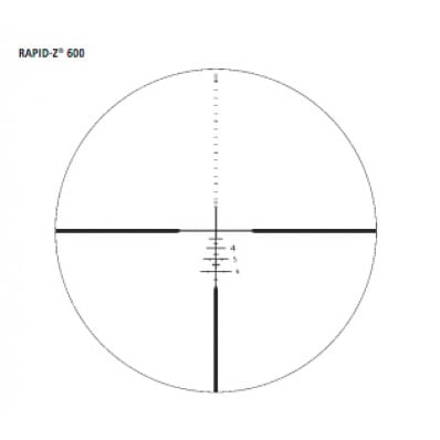 DEMO Zeiss Conquest HD5 Rifle Scope - 3-15x42mm Rapid-Z 600 Reticle