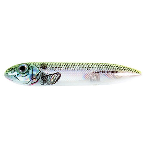 Heddon Super Spook Lure Okie Shad New