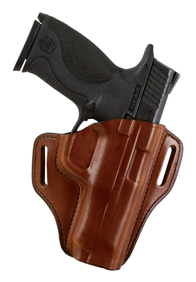Bianchi Model 57 Remedy Open-Top Holster, Ruger LCR  38 Special, Right  Hand, Plain Tan