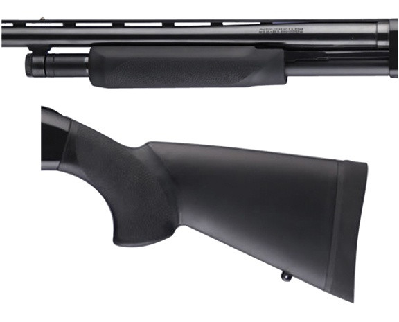 Hogue Shotgun Stocks - Mossberg 500 Combo Forend and Stock 12