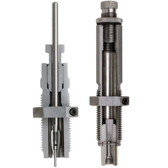 Hornady Custom Grade New Dimension Series I Rifle 2-Die Set  223 Rem  224
