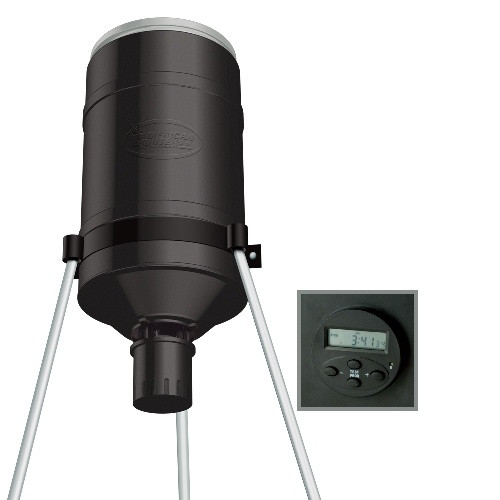 American Hunter 225 Lb Tripod Feeder With Digital Timer