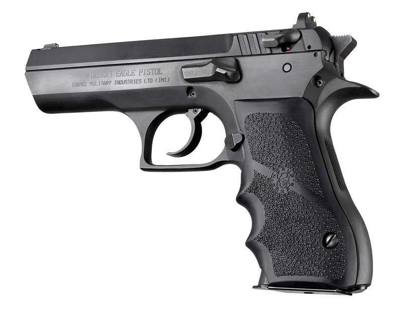 Hogue Magnum Research Baby Eagle  40/9mm Jericho & Uzi Eagle Rubber Grips  with Finger Grooves