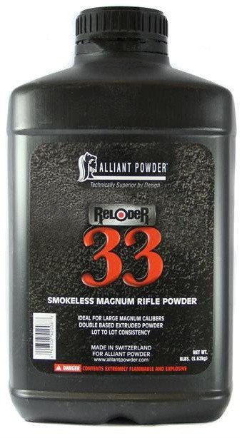 Alliant Smokeless Magnum Rifle Powder 33 8 lb