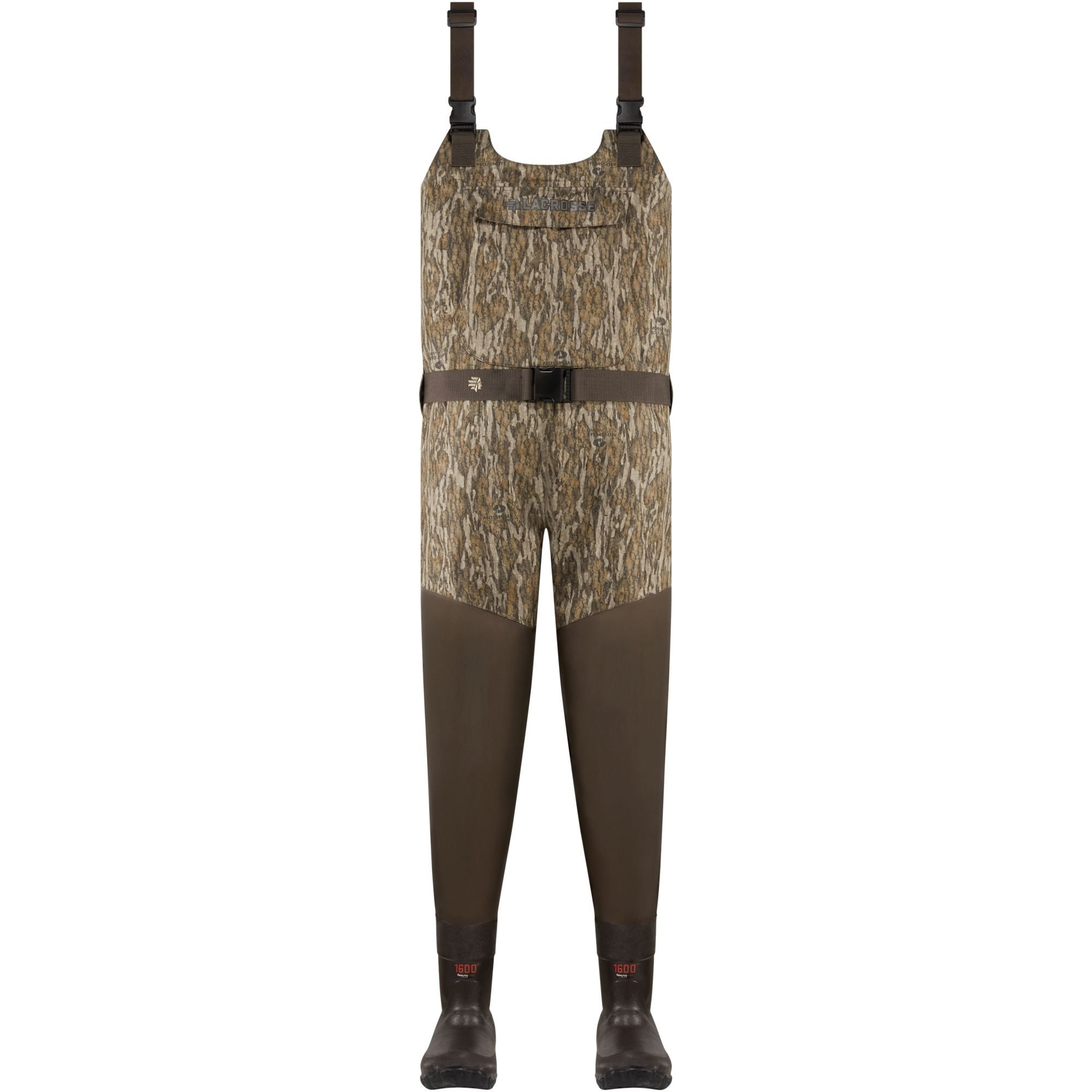 a1c154319a923 LaCrosse Wetlands Insulated Waders - Mossy Oak Bottomland 1600G | Natchez