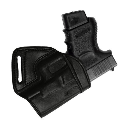 Tagua Middle of the Back Holster S&W J Frame 2 1/8IN Black/Right Hand