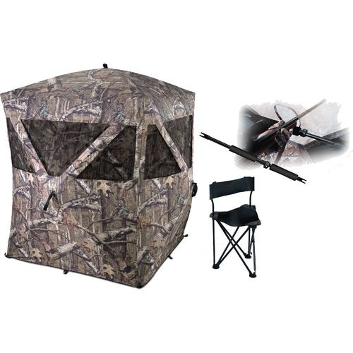 Ameristep Care Taker Combo Hub Style 2 Person Ground Blind With