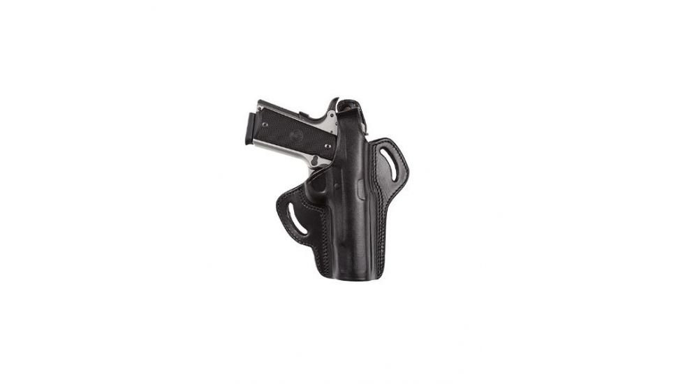Tagua Gunleather Anniversary Multifit - Thumbreak Belt Holster - Right Hand  Black for S&W J Frame/Ruger LCR/Bdygrd 38