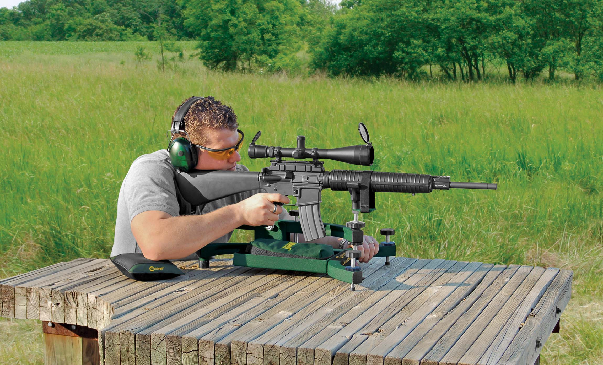 Caldwell Lead Sled Solo Recoil Reducing Rifle Rest Natchez