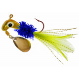Road Runner Gold Series Fly Lure 1/16 oz - Blue Cheez