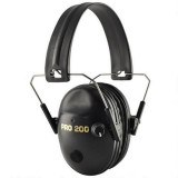Pro Ears Pro 200 Electronic Ear Muffs - Black