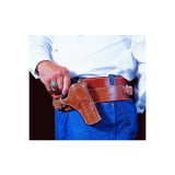 DeSantis Style 083 Doc Holliday Cross Draw Holster