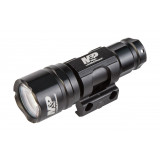 Smith & Wesson Delta Force RM-10 Tactical Light with Pic Rail Mount LED Black