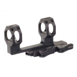 American Defense Mfg. Mount Picatinny Quick Release Fits 30mm Scope High Height Black AD-RECON-H 30