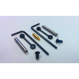 KNS Precision Gen 2 Mod 2 Non-Rotating Trigger/Hammer Pins - Fits Smith & Wesson M&P 15-22  Black