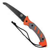 "UST - Ultimate Survival Technologies SaberCut Field Saw  5.5""  Stainless Steel Blade TPR Handle with Bead Blasting Orange/Grey"