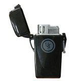 UST Floating Windproof Lighter - Black