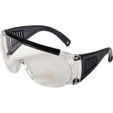 Allen Over Shooting & Safety Glasses - Black Frames w/ Clear Lens