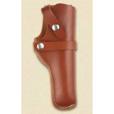 Hunter Leather Snap Off Belt Holster, Fits Springfield XD, Taurus 24/7 Pro and Similar