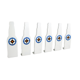 Do-All Outdoors Range Ready .22 Caliber Range Ready Bottle Plinkers - 6 Pack