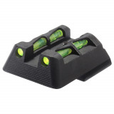 HiViz Litewave Sight For HK45/P30 Rear Only - Includes LitePipes and Key