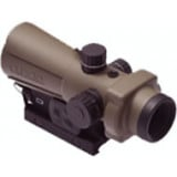 Lucid Optics Generation III HD7 Red Dot Sight - 2 MOA Picatinny Rail w/Reversible Pins Tan