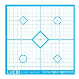 "Lucid Precision Sight-In Target - 18""x18"" 20/Pack"