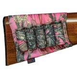 Buttstock Cartridge Shell Holder Shotgun Open Style True Timber Pink