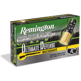 "1Remington ultimate Defense Shotshell Ammunition 12ga. 2-3/4"" 00BK 5/ct"