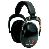 Walker's Electronic Power Muffs w/ Aft Black