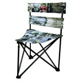 """When you spend as much time in our ground blinds as we do, you eventually create the """"best seat in the house"""" instead of trying to """"make do"""" with some chair from a discount store. Standard chairs are apt to cut off blood flow on the back of your legs, lea"""