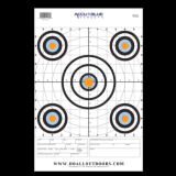 "Do-All Outdoors Target - Range 12""x18"" 10 Pack"