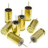 Lucky Shot 9mm Brass Push Pins - Brass (8 per pack)