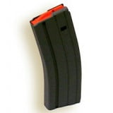 A.S.C. AR Family Rifle Magazines with Orange Follower - .223 Remington Black Aluminum, 30 rds.