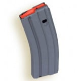 A.S.C. .223 Remington Aluminum Grey 30 Round Magazine w/Orange Follower