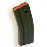 A.S.C. AR Family Rifle Magazines with Orange Follower - .223 Remington Black Stainless Steel, 30 rds.