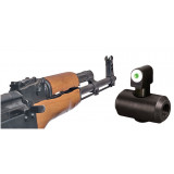 XS Sight Systems Bit Dot AK-47/AKM Express Set (Tritium Front, White Stripe Rear)