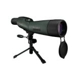 Bushnell Trophy XLT Spotting Scope with Compact Tripod & Premium Hard Case - 20-60x65mm - Rubberized/Matte