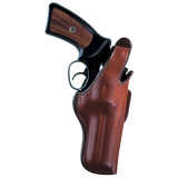 """Bianchi Model 5BHL Thumbsnap - Ruger SP101 3"""", Right Hand, Plain Tan"""