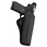 "Bianchi Model 7105 AccuMold Cruiser Duty Holster, Ruger GP100 4"", Right Hand, Black"