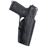 Bianchi Model 19L-2 Thumbsnap for Sam Browne, S&W 40F, Right Hand, Plain Black